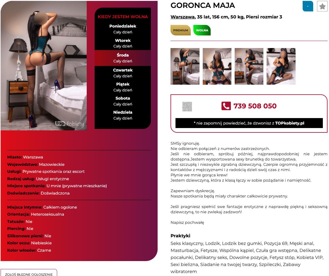 Sex ogłoszenie towarzyskie - Szczecin